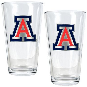Arizona Wildcats 2-pc. Pint Glass Set