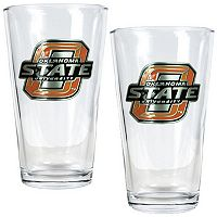 Oklahoma State Cowboys 2 pc Pint Glass Set