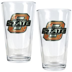 Oklahoma State Cowboys 2-pc. Pint Glass Set