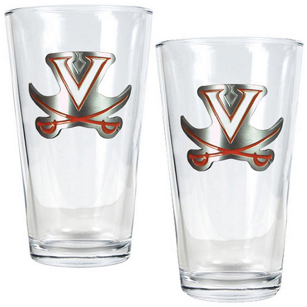 Virginia Cavaliers 2-pc. Pint Glass Set
