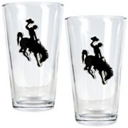 Wyoming Cowboys 2-pc. Pint Glass Set
