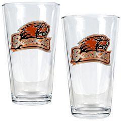 Oregon State Beavers 2-pc. Pint Glass Set