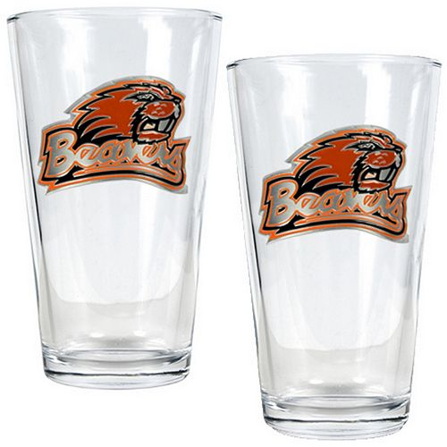 Oregon State Beavers 2-pc. Pint Glass Set