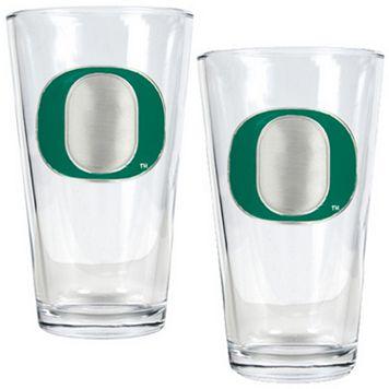 Oregon Ducks 2-pc. Pint Glass Set