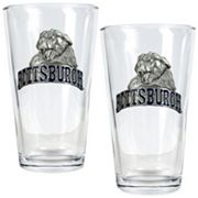 Pittsburgh Panthers 2 pc Pint Glass Set