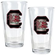 South Carolina Gamecocks 2 pc Pint Glass Set