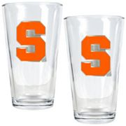 Syracuse Orange 2-pc. Pint Glass Set