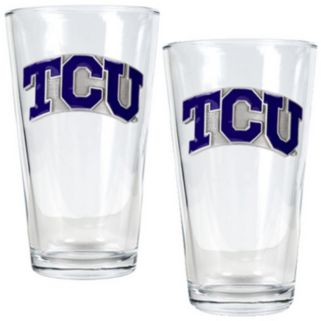 TCU Horned Frogs 2-pc. Pint Glass Set