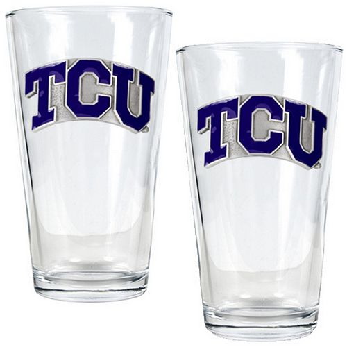 TCU Horned Frogs 2-pc. Pint Glass Set