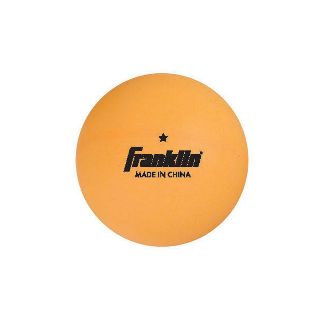 Franklin 144-pk. 40mm 1 Star Orange Table Tennis Balls