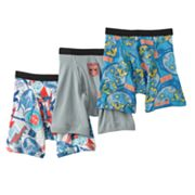 Transformers Prime 3-pk. Boxer Briefs - Boys 4-8