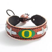 Oregon Ducks Leather Bracelet