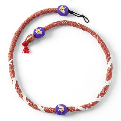 Minnesota Vikings Leather Necklace
