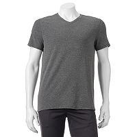 Men's Apt. 9® Premier Flex Modern-Fit Feeder-Striped Stretch V-Neck Lounge Tee