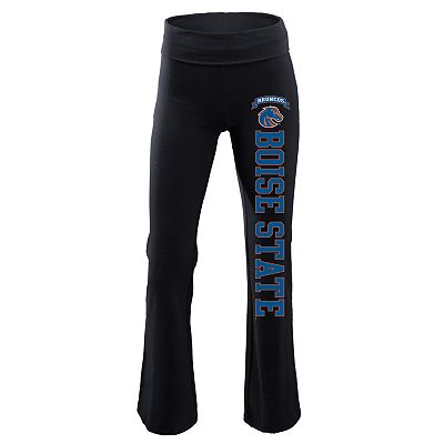 Soffe Boise State Broncos Fold-Over Yoga Pants - Juniors'
