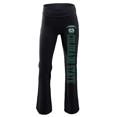 Soffe Colorado State Rams Fold-Over Yoga Pants - Juniors'