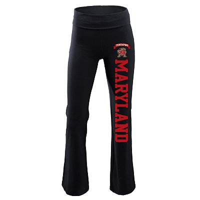 Soffe Maryland Terrapins Yoga Pants - Juniors'