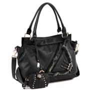 Nicole Lee Fabiola Faux-Fur Convertible Tote