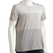 Urban Pipeline Striped V-Neck Tee - Men