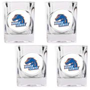 Boise State Broncos 4-pc. Shot Glass Set