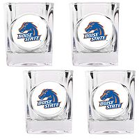Boise State Broncos 4 pc Shot Glass Set