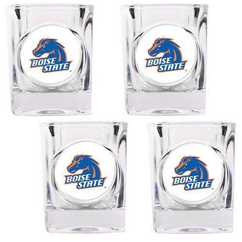 Boise State Broncos 4-pc. Shot Glass Set