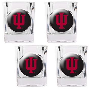 Indiana Hoosiers 4-pc. Shot Glass Set