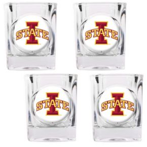 Iowa State Cyclones 4-pc. Shot Glass Set