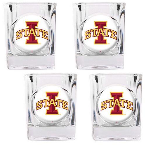 Iowa State Cyclones 4-pc. Shot Glass Set