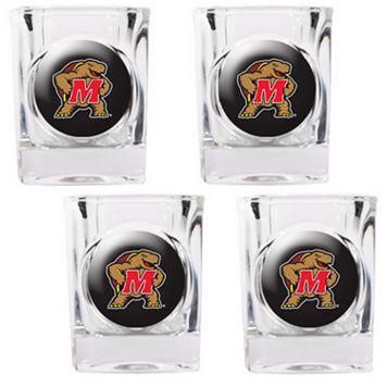 Maryland Terrapins 4-pc. Shot Glass Set