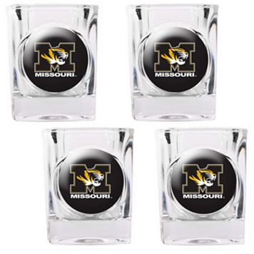 Missouri Tigers 4-pc. Shot Glass Set