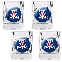 Arizona Wildcats 4-pc. Shot Glass Set