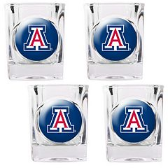 Arizona Wildcats 4-pc. Shot Glass Set