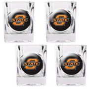 Oklahoma State Cowboys 4-pc. Shot Glass Set