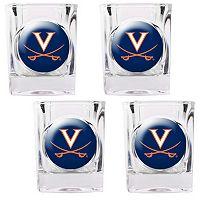 Virginia Cavaliers 4-pc. Shot Glass Set