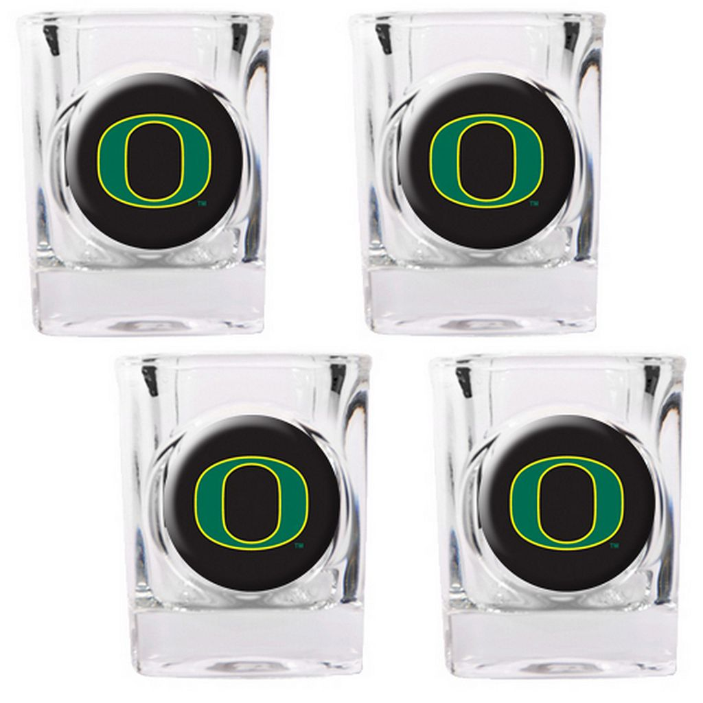 Oregon Ducks 4-pc. Shot Glass Set