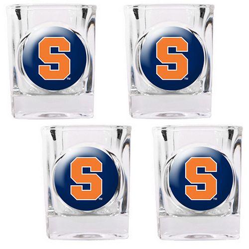 Syracuse Orange 4-pc. Shot Glass Set