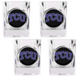 TCU Horned Frogs 4-pc. Shot Glass Set