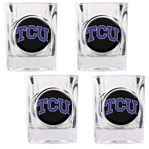 TCU Horned Frogs 4-pc. Shot Glass Set