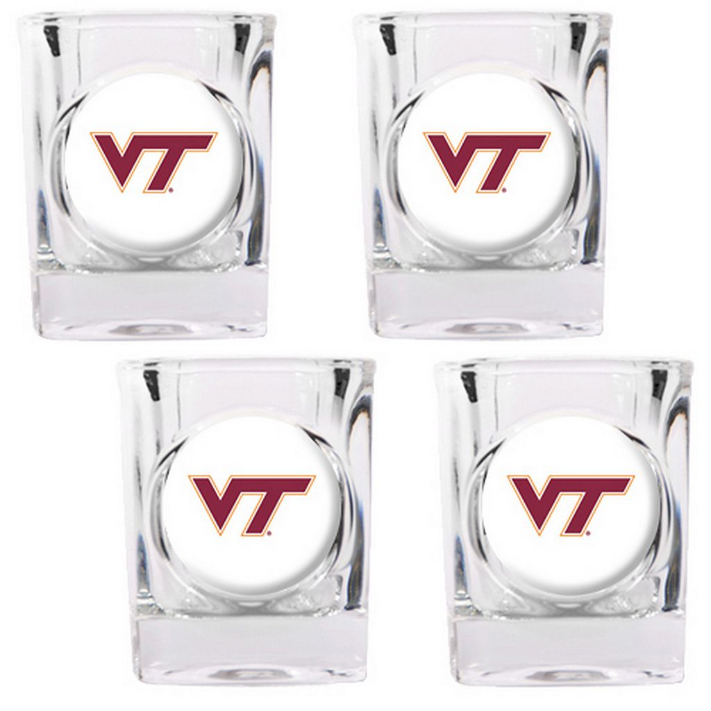Virginia Tech Hokies 4-pc. Shot Glass Set