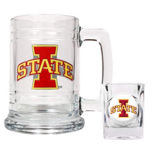 Iowa State Cyclones 2-pc. Mug and Shot Glass Set