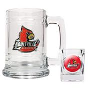 Louisville Cardinals 2-pc. Mug and Shot Glass Set