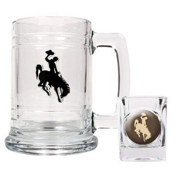 Wyoming Cowboys 2-pc. Mug & Shot Glass Set