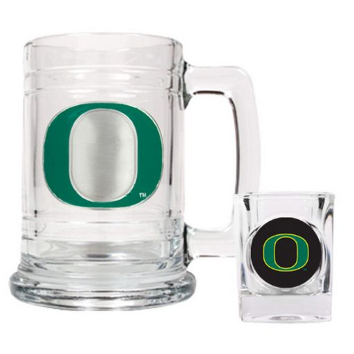 Oregon Ducks 2-pc. Mug and Shot Glass Set
