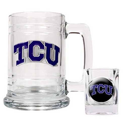 TCU Horned Frogs 2-pc. Mug & Shot Glass Set