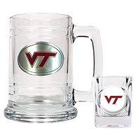 Virginia Tech Hokies 2 pc Mug & Shot Glass Set