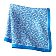 Croft and Barrow Floral Pocket Square