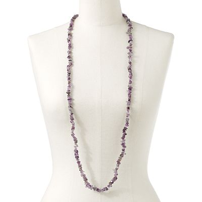 SONOMA life + style Silver Tone Long Necklace