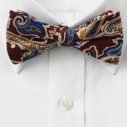 Croft and Barrow Paisley Pretied Bow Tie