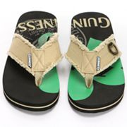 Guinness Shamrock Bottle Opener Flip-Flops - Men